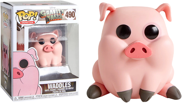 POP! Animation: Gravity Falls -  Waddles (Exclusive)