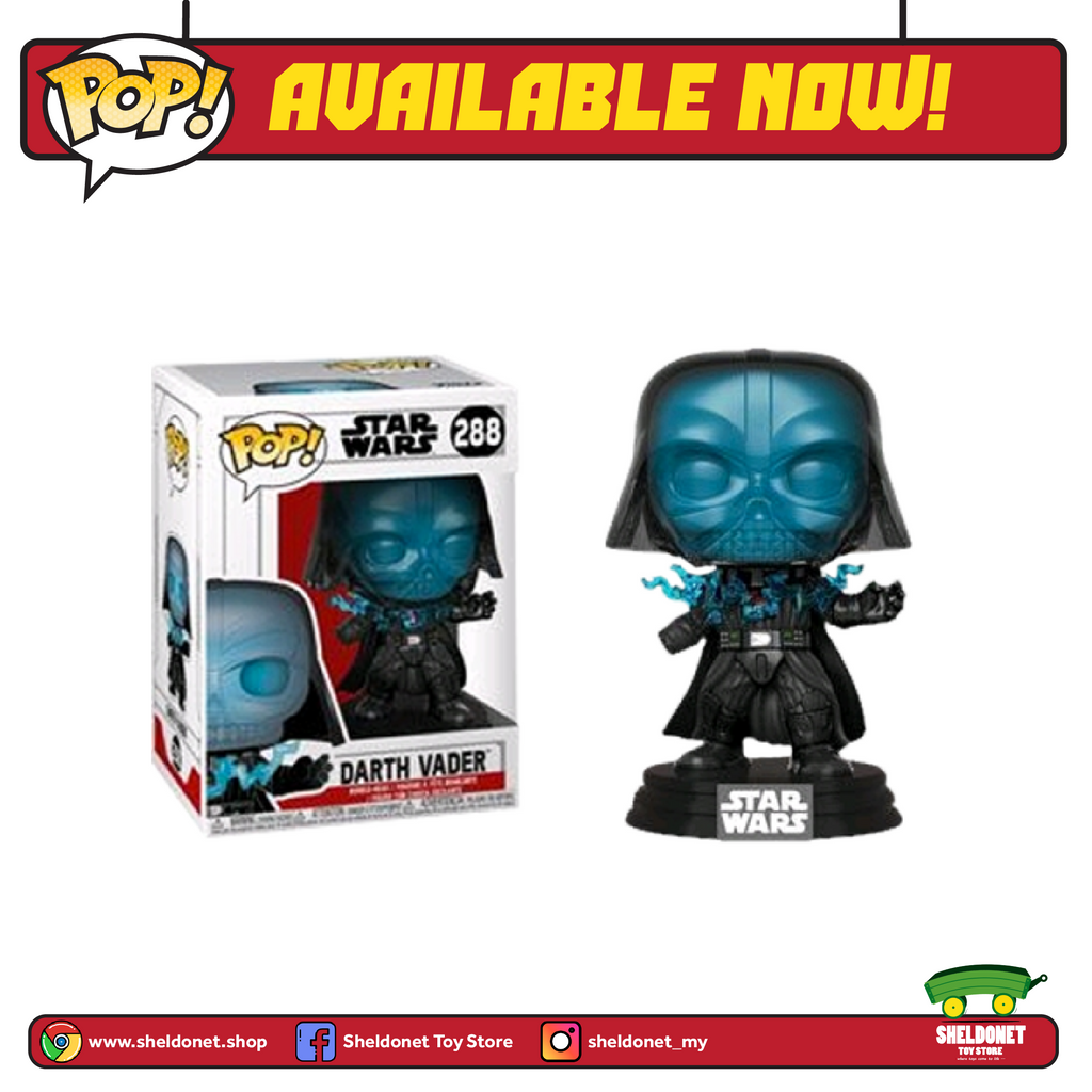 Funko Pop! Star Wars: Electrocuted Vader - Sheldonet Toy Store