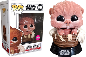 POP! Star Wars: Baby Nippet (Flocked) [Exclusive] - Sheldonet Toy Store