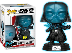 POP! Star Wars: Electrocuted Vader (Glow In The Dark) [Exclusive] - Sheldonet Toy Store