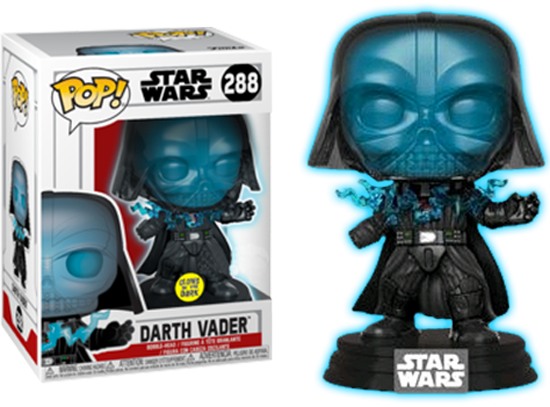 POP! Star Wars: Electrocuted Vader (Glow In The Dark) [Exclusive]