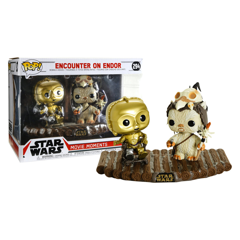 POP! MOVIE MOMENTS :STAR WARS -ENCOUNTER ON ENDOR - Sheldonet Toy Store