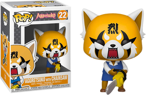 Pop! Sanrio: Aggretsuko - Retsuko With Chainsaw - Sheldonet Toy Store