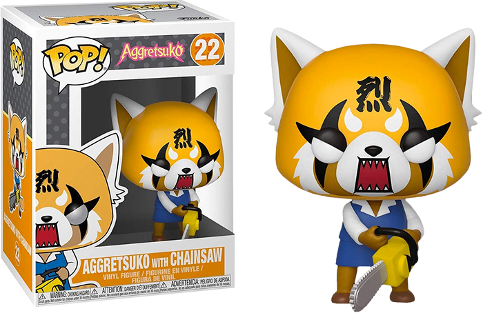 Pop! Sanrio: Aggretsuko - Retsuko With Chainsaw