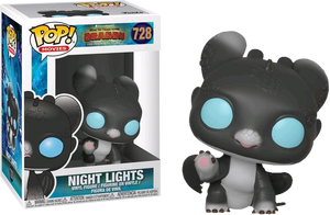 POP! Movies: How To Train Your Dragon 3 - Night Lights (Black & Blue) - Sheldonet Toy Store