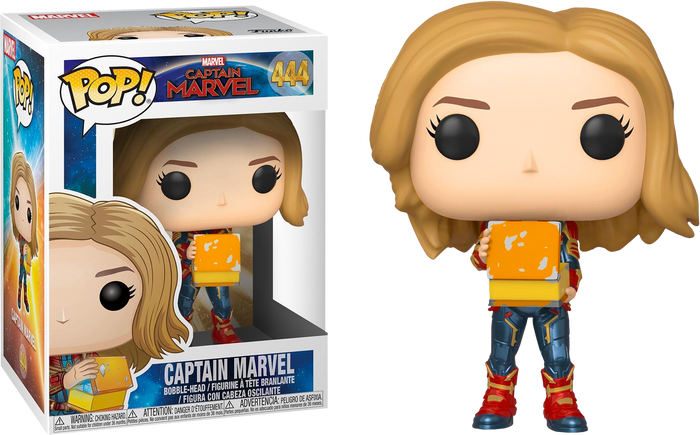 Pop! Marvel: Captain Marvel - Captain Marvel with Lunch Box