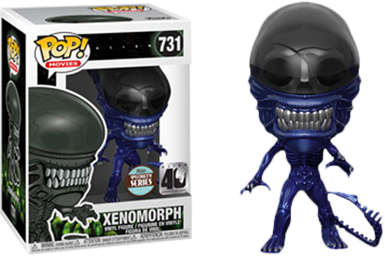 Pop! Movies: Alien 40th - Xenomorph (Blue Metallic) [Exclusive]
