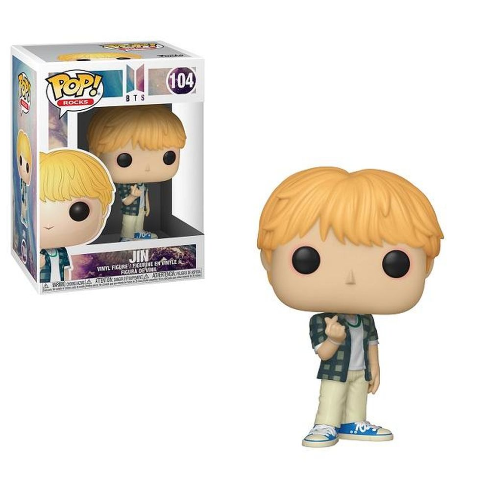 POP! Rocks: BTS - Jin - Sheldonet Toy Store