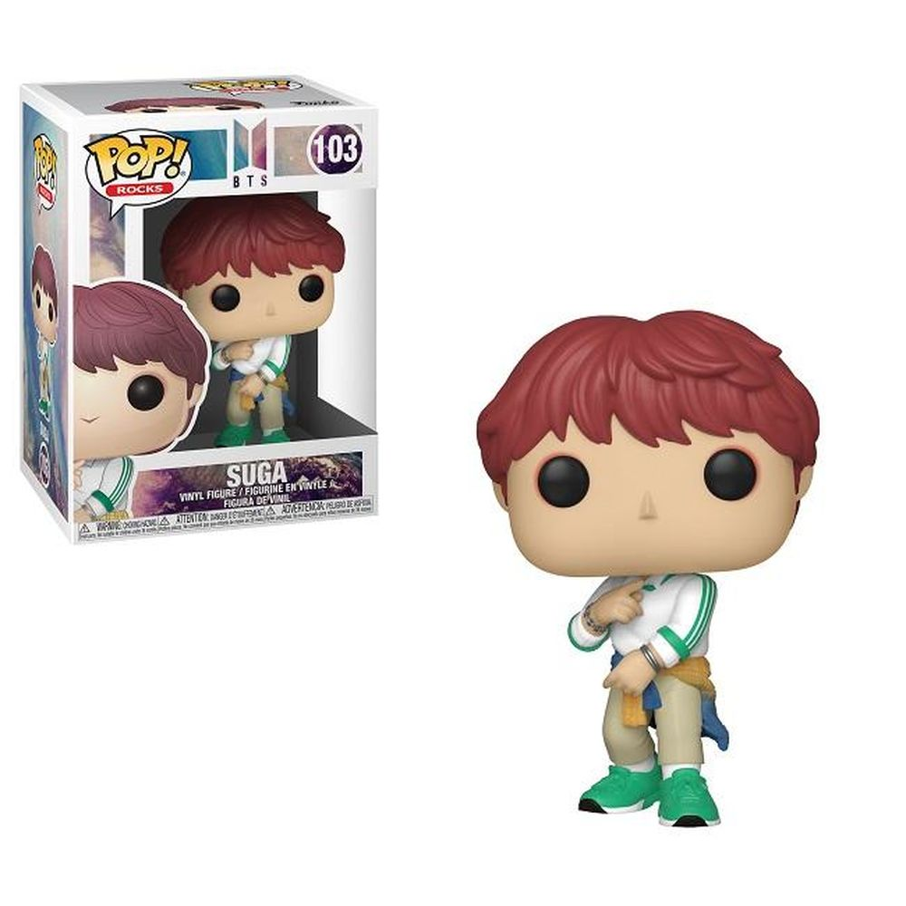 POP! Rocks: BTS - Suga - Sheldonet Toy Store