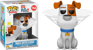Pop! Movies: Secret Life of Pets 2 - Max (Cone) - Sheldonet Toy Store