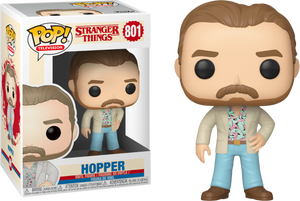 Pop! TV: Stranger Things Season 3 - Hopper (Date Night) - Sheldonet Toy Store