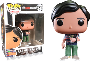 POP! TV : Big Bang Theory - Raj - Sheldonet Toy Store