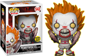 Pop! Movies: IT - Pennywise Spider Legs (Glow In The Dark) [Exclusive] - Sheldonet Toy Store