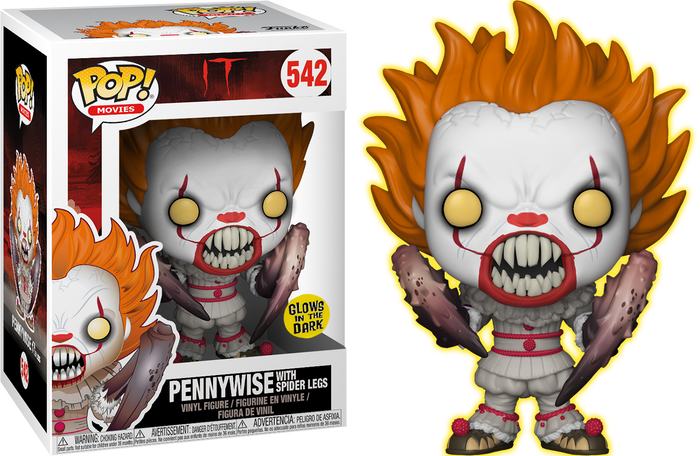 Pop! Movies: IT - Pennywise Spider Legs (Glow In The Dark) [Exclusive]