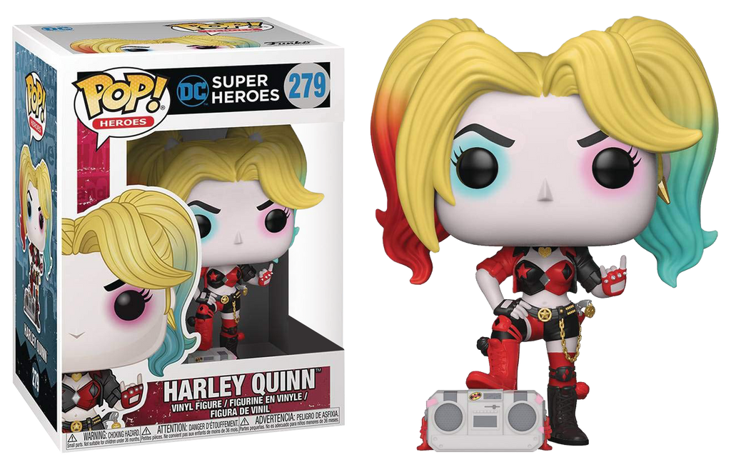 POP! Heroes : DC - Harley Quinn With Boombox [Exclusive] - Sheldonet Toy Store
