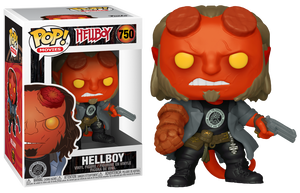 POP! Movies: Hellboy - Hellboy with BPRD Tee - Sheldonet Toy Store