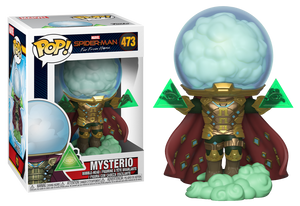 POP! Marvel: Spiderman Far From Home - Mysterio - Sheldonet Toy Store