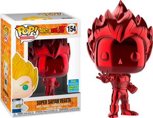 POP! Animation: Dragon Ball Z - Vegeta (Red Chrome) [SDCC 2019 Summer Convention] - Sheldonet Toy Store