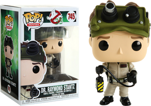 Pop! Movies: Ghostbusters - Dr. Raymond Stantz - Sheldonet Toy Store