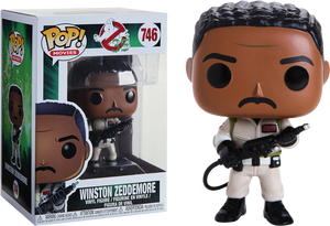 Pop! Movies: Ghostbusters - Winston Zeddemore - Sheldonet Toy Store