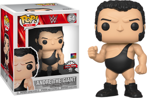 "POP! WWE: Andre The Giant 6"" Inch [Exclusive] - Sheldonet Toy Store"