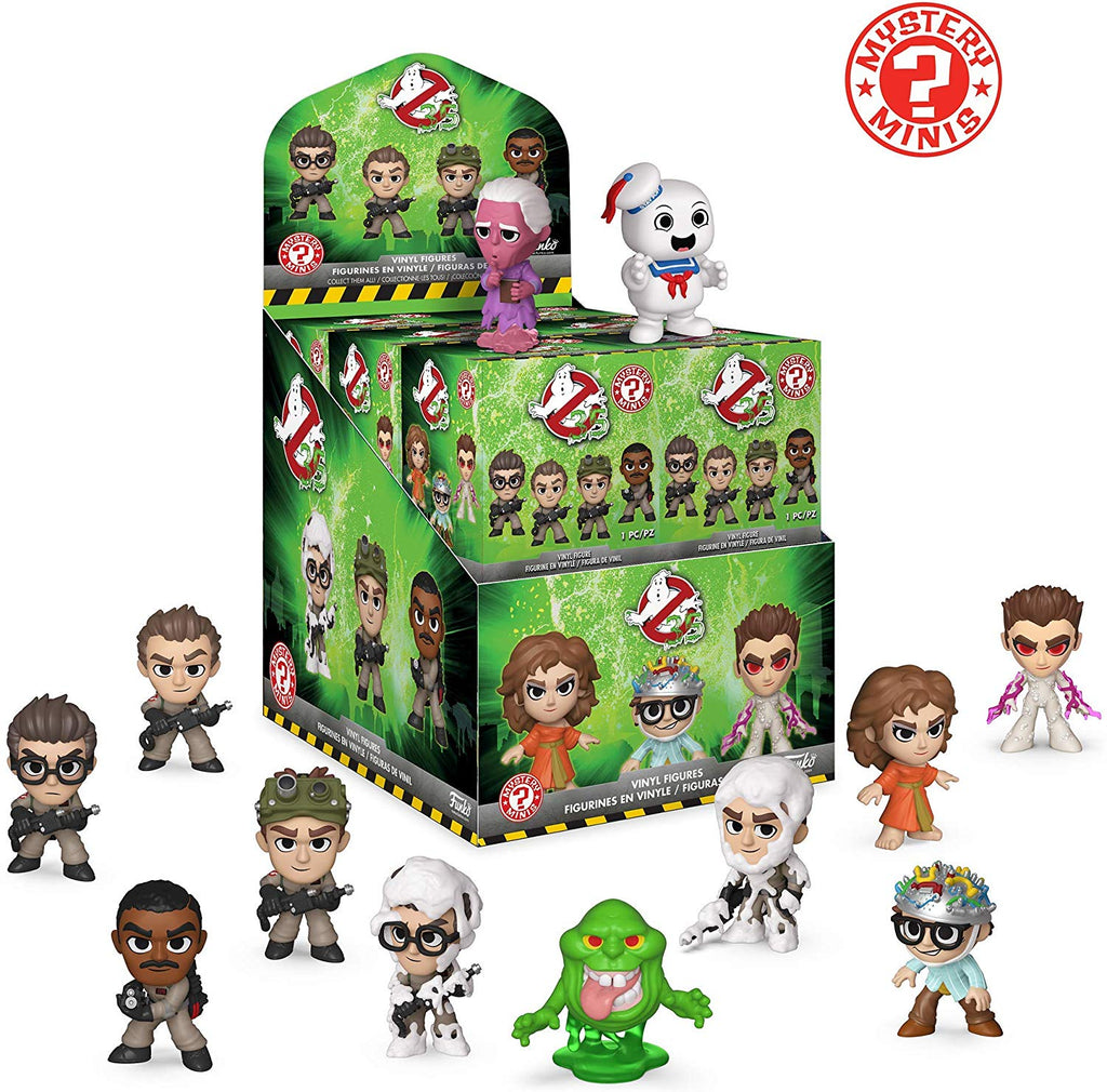 Mystery Minis : Ghostbusters 12 pieces - Sheldonet Toy Store