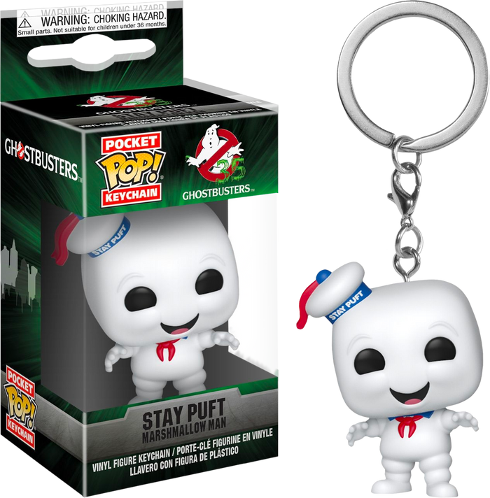 Pocket Pop! Keychain: Ghostbusters - Stay Puft