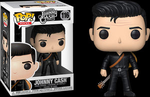 POP! Rocks: Johnny Cash - Johnny Cash in Black - Sheldonet Toy Store