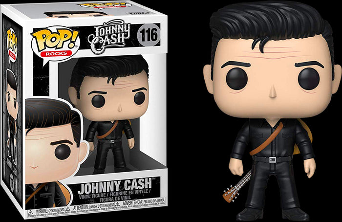 POP! Rocks: Johnny Cash - Johnny Cash in Black