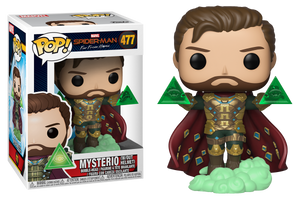 Pop! Marvel: Spider-Man Far From Home - Mysterio Unmasked (Exclusive) - Sheldonet Toy Store