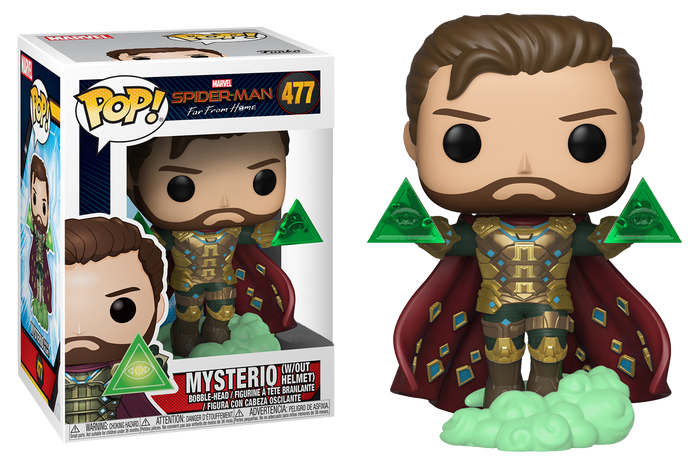 Pop! Marvel: Spider-Man Far From Home - Mysterio Unmasked (Exclusive)
