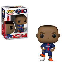 Pop! Football : Paris Saint Germain - Kylian Mbappe - Sheldonet Toy Store