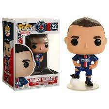 Pop! Football : Paris Saint Germain - Marco Veratti - Sheldonet Toy Store