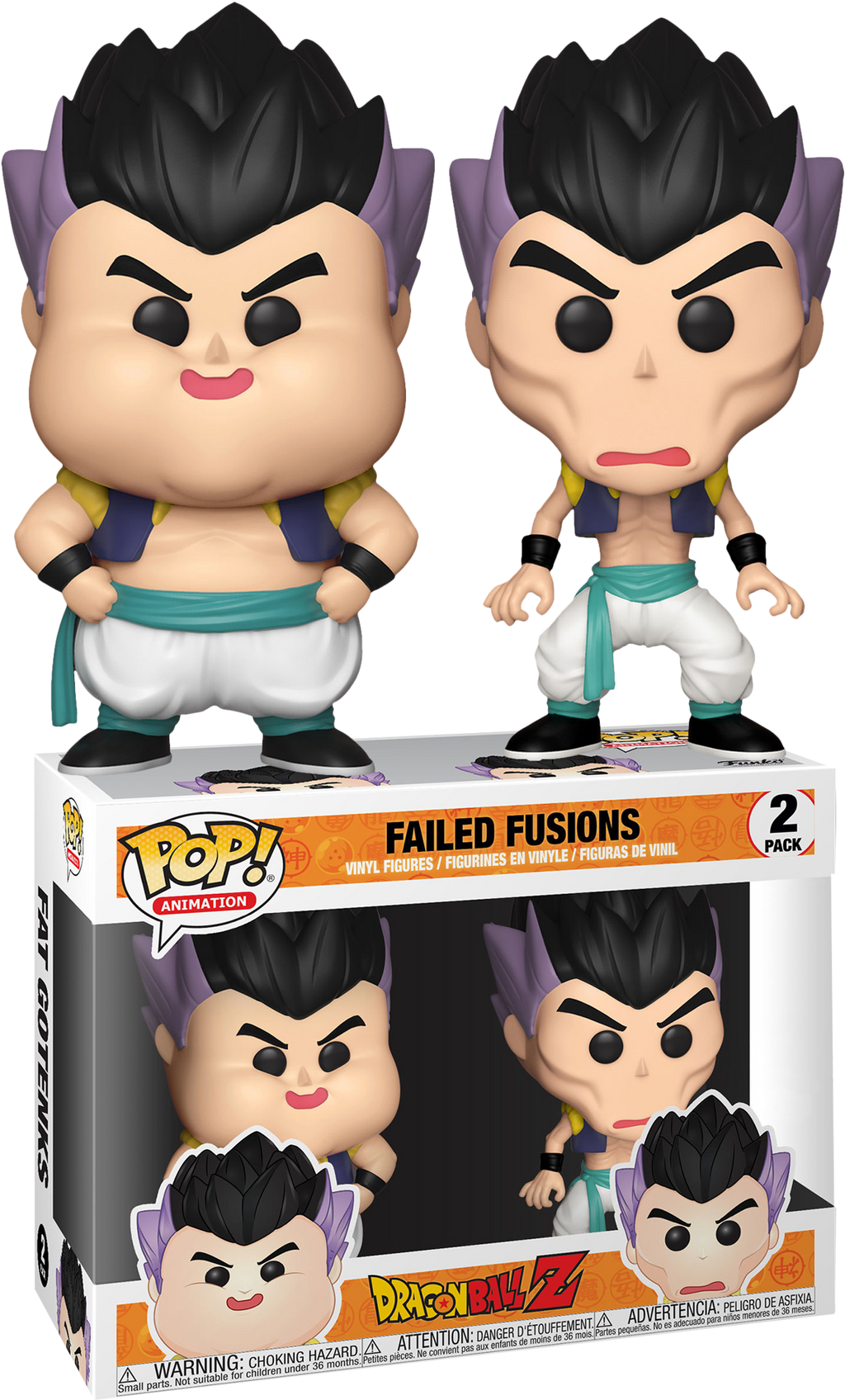 POP! Animation: Dragon Ball Z- Failed Fusion 2-pack (Exclusive) - Sheldonet Toy Store