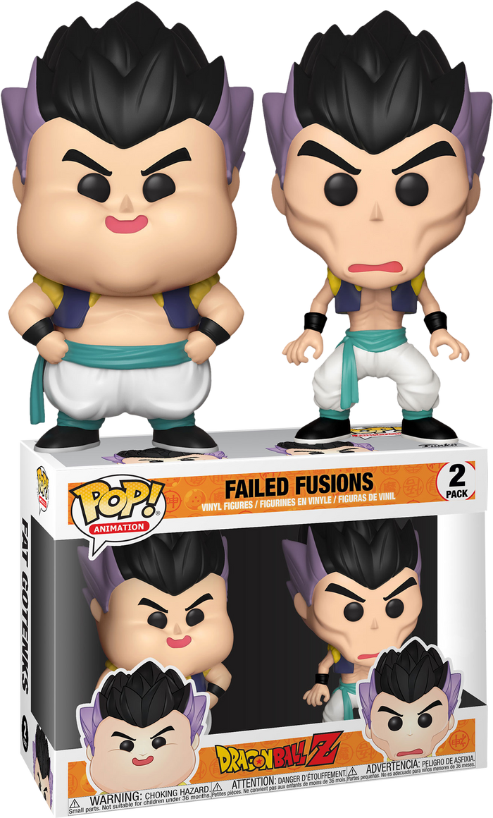 POP! Animation: Dragon Ball Z- Failed Fusion 2-pack (Exclusive)