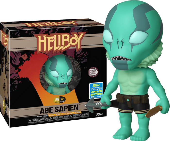 5-Star: Hellboy - Abe Sapien [SDCC 2019 Summer Convention]