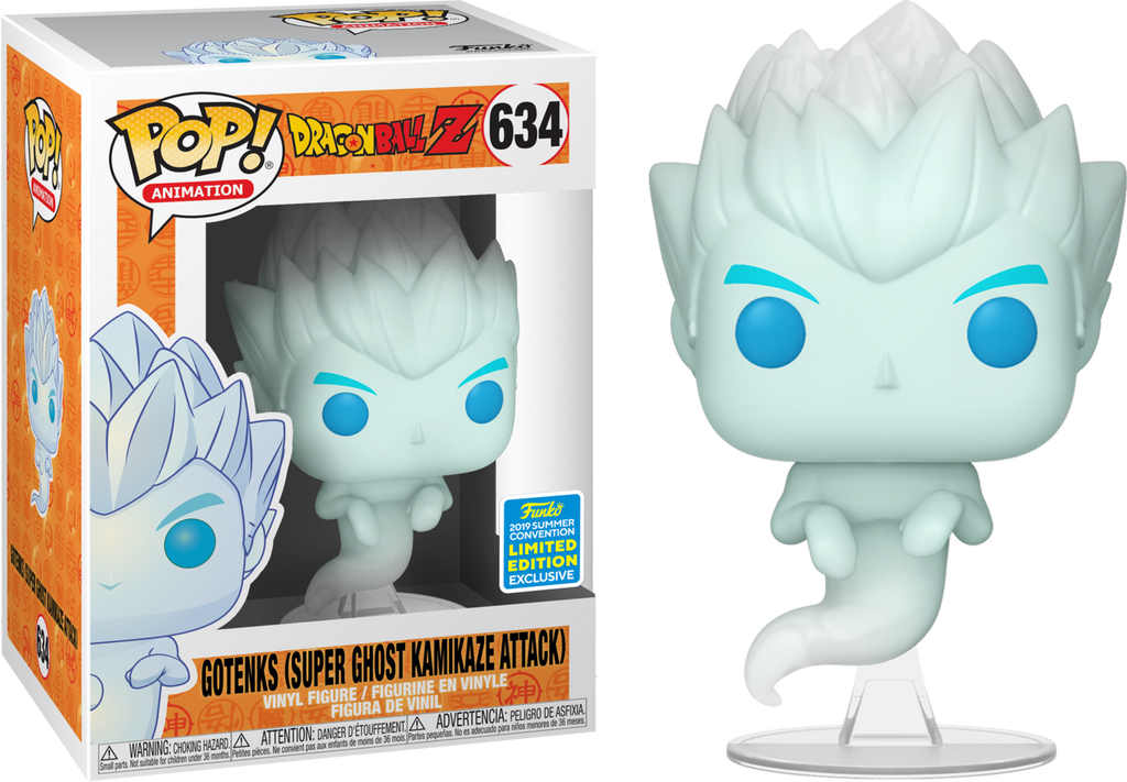 POP! Animation: Dragonball Z - Gotenks (Super Ghost Kamikaze) [SDCC 2019 Summer Convention] - Sheldonet Toy Store
