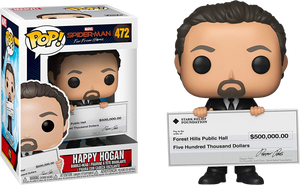 Pop! Marvel: Spider-Man Far From Home - Happy Hogan - Sheldonet Toy Store