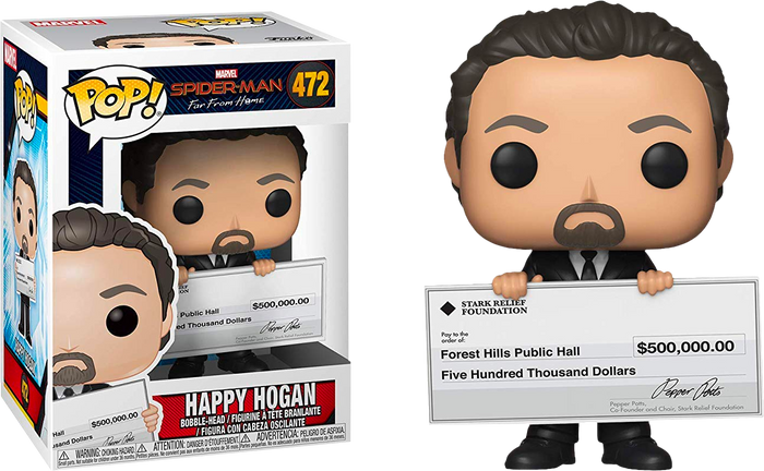 Pop! Marvel: Spider-Man Far From Home - Happy Hogan