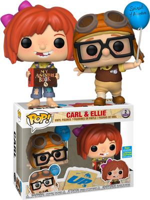 POP! Disney: UP - Young Carl and Ellie (2-pack) [SDCC 2019 Summer Convention] - Sheldonet Toy Store