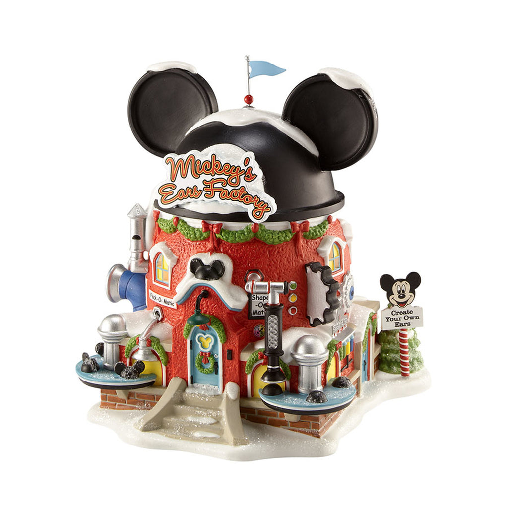 Enesco : North Pole Series - Mickey's Ears Factory - Sheldonet Toy Store