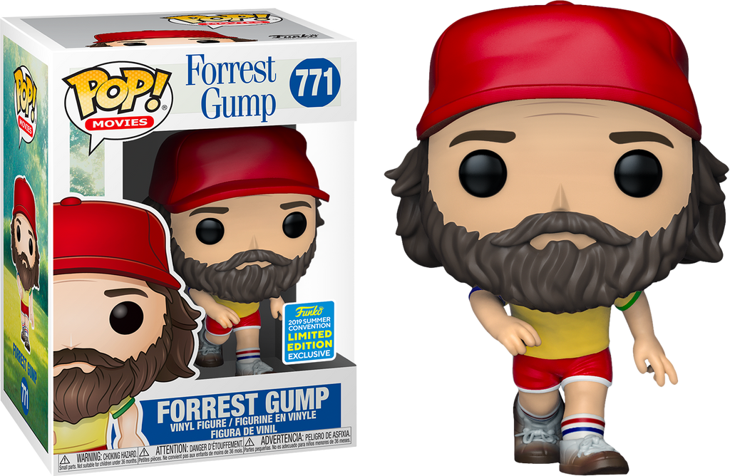POP! Movies: Forrest Gump - Forrest Gump [SDCC 2019 Summer Convention] - Sheldonet Toy Store