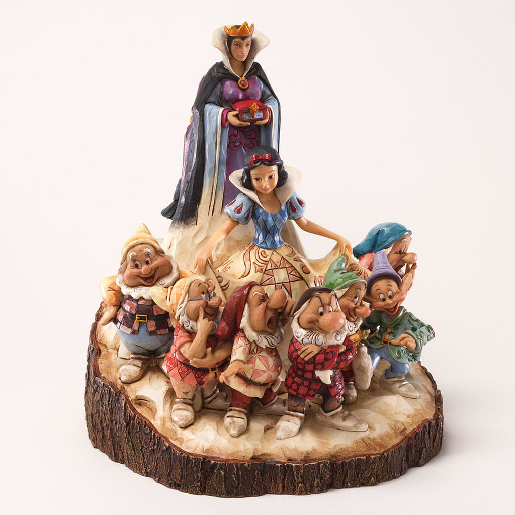 Enesco : Disney Traditions - Wood Carved Snow White - Sheldonet Toy Store