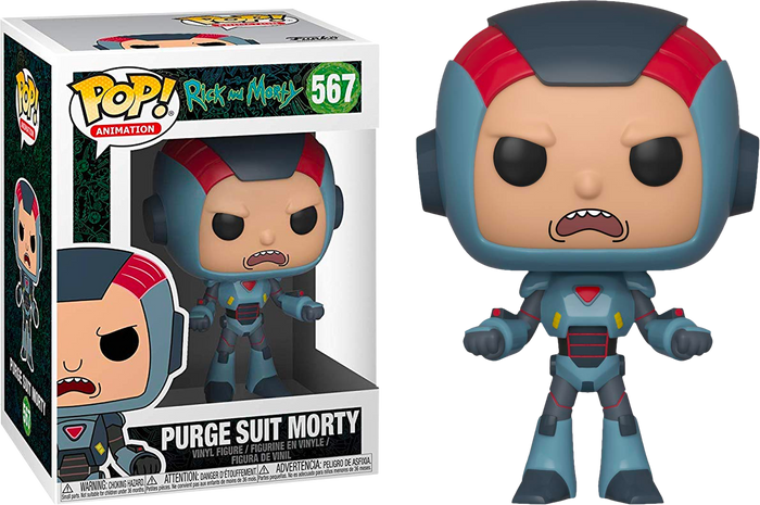 POP! Animation: Rick And Morty - Morty in Purge Suit