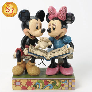 Enesco : Disney Traditions - Mickey and Minnie 85th Anniversary Sharing Memories - Sheldonet Toy Store