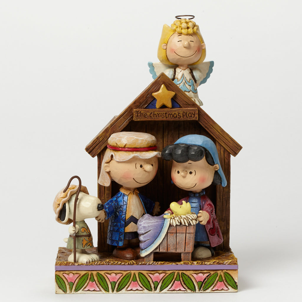 Enesco : Peanuts by Jim Shore - Peanuts Christmas Pageant - Sheldonet Toy Store