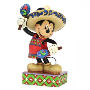 Enesco : Disney Traditions - Mickey in Mexico - Sheldonet Toy Store