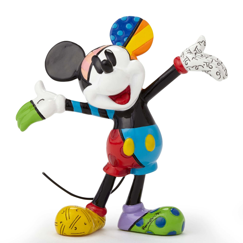 Enesco : Disney by Britto - Mickey Mouse Mini Fig - Sheldonet Toy Store