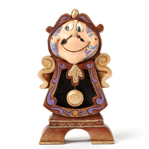 Enesco : Disney Traditions - Keeping Watch, Cogsworth - Sheldonet Toy Store