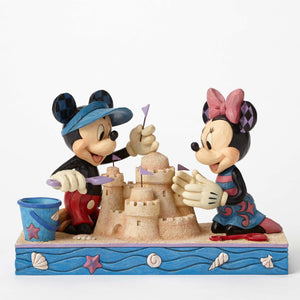 Enesco : Disney Traditions - Seaside Mickey and Minnie - Sheldonet Toy Store